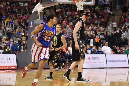 "Orlando ""El Gato"" Melendez and the Harlem Globetrotters will play from 7 to 10 p.m. tonight in the Kay Yeager Coliseum."