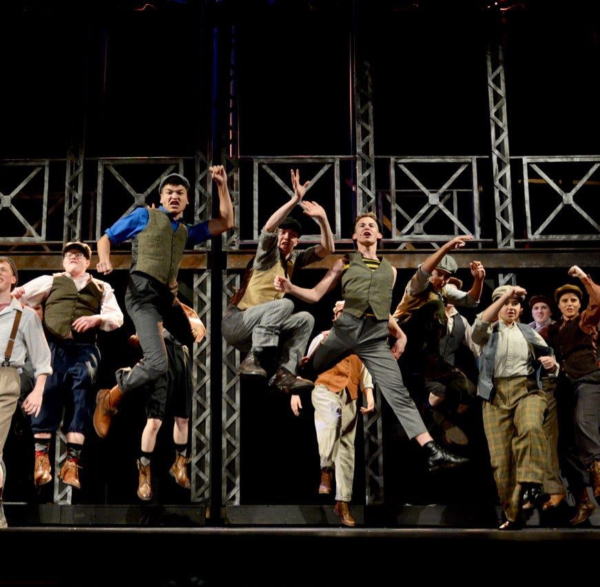 Strike! Wichita Theatre delivers 'Newsies' to the stage