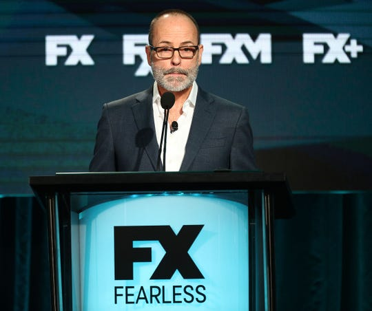 FX Networks CEO John Landgraf criticized Netflix's ratings boasts at the Television Critics Association Feb. 4 in Pasadena, Calif.