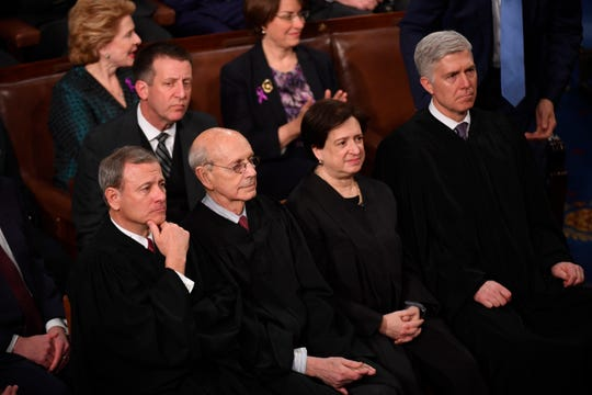 'Childish spectacle:' Supreme Court justices bemoan State of the Union