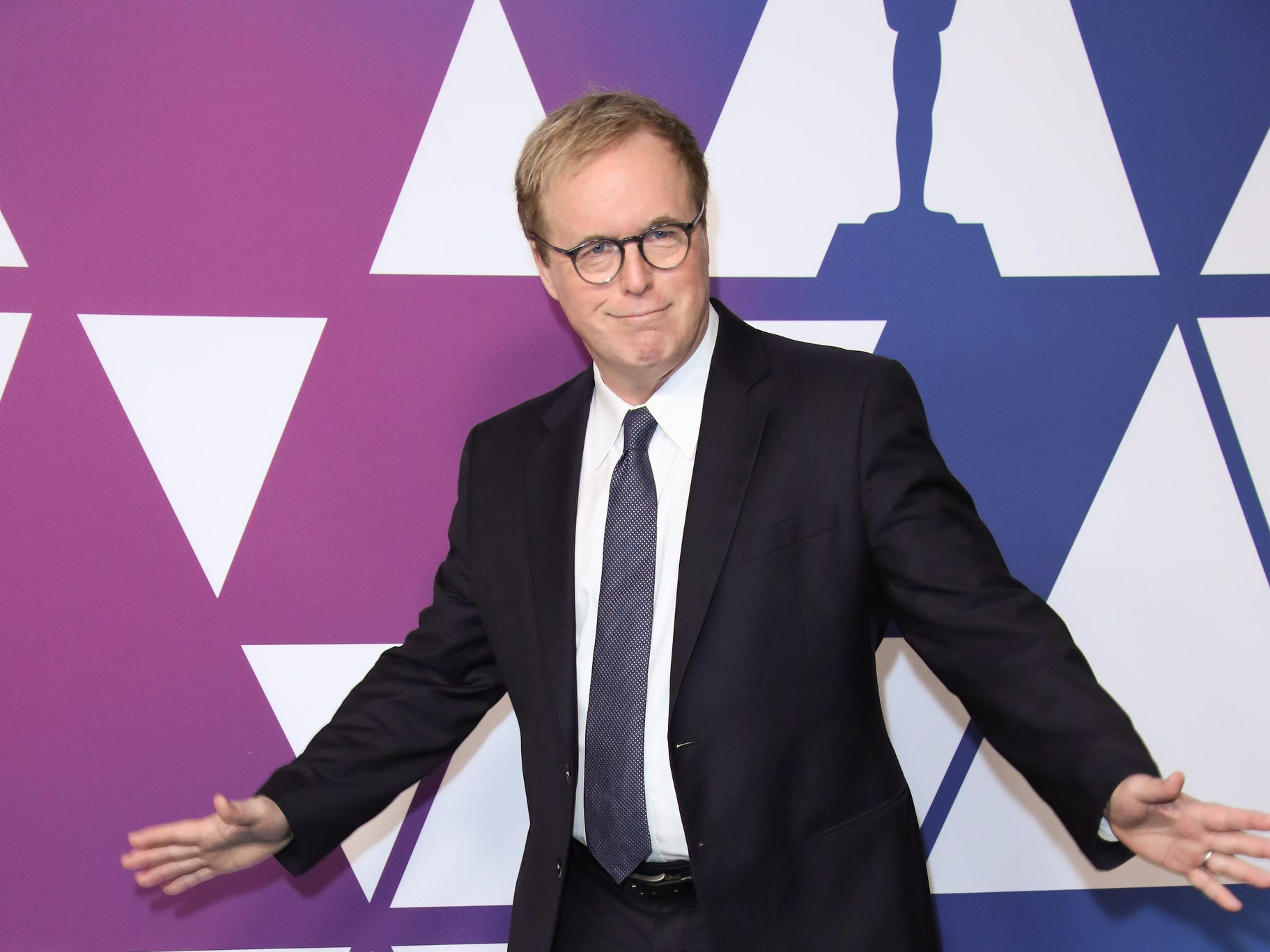 2/4/19 11:28:16 AM -- Beverly Hills, CA, U.S.A  -- Brad Bird arrives at the 91st Oscar nominees luncheon at the Beverly Hilton Hotel in Beverly Hills, CA--    Photo by Dan MacMedan, USA TODAY contract photographer ORG XMIT:  DM 137796 OscarNomineesLun 2/4/ [Via MerlinFTP Drop]