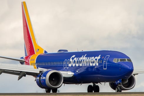 Southwest Airlines: First Hawaii test flight is Tuesday