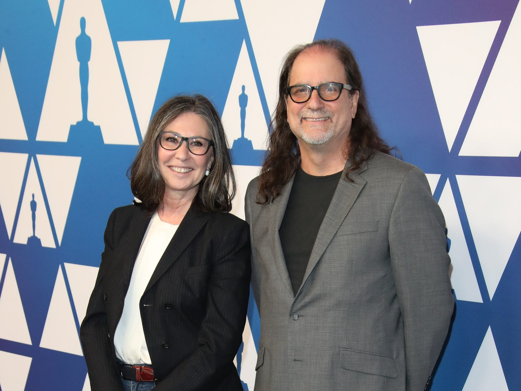 Oscars telecast producers Donna Gigliotti and Glenn Weiss