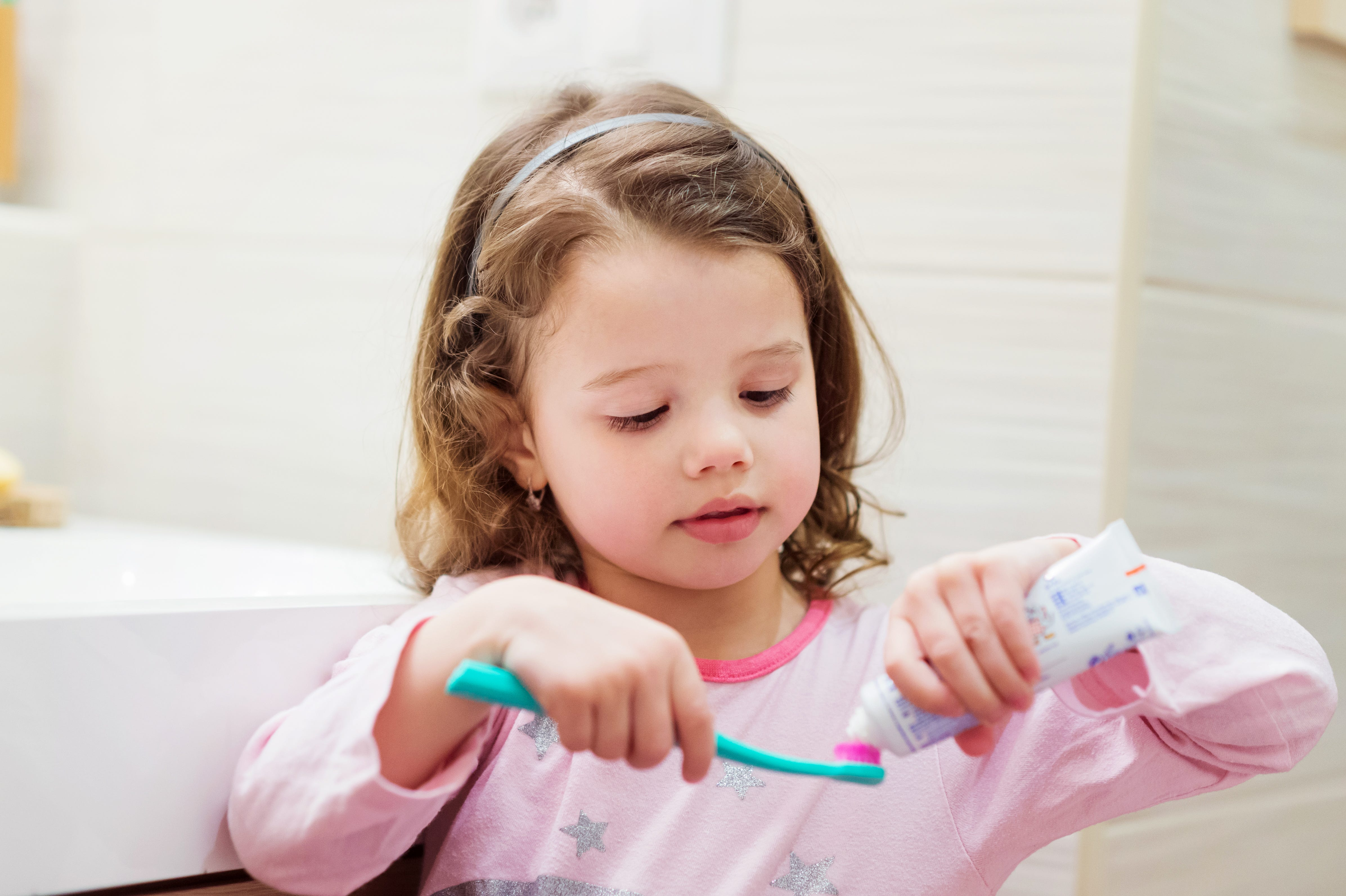Children are using an unhealthy amount of toothpaste, CDC warns