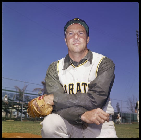 Bob Friend played 16 seasons in the major leagues from 1951-66 -- all but one of them with the Pittsburgh Pirates.