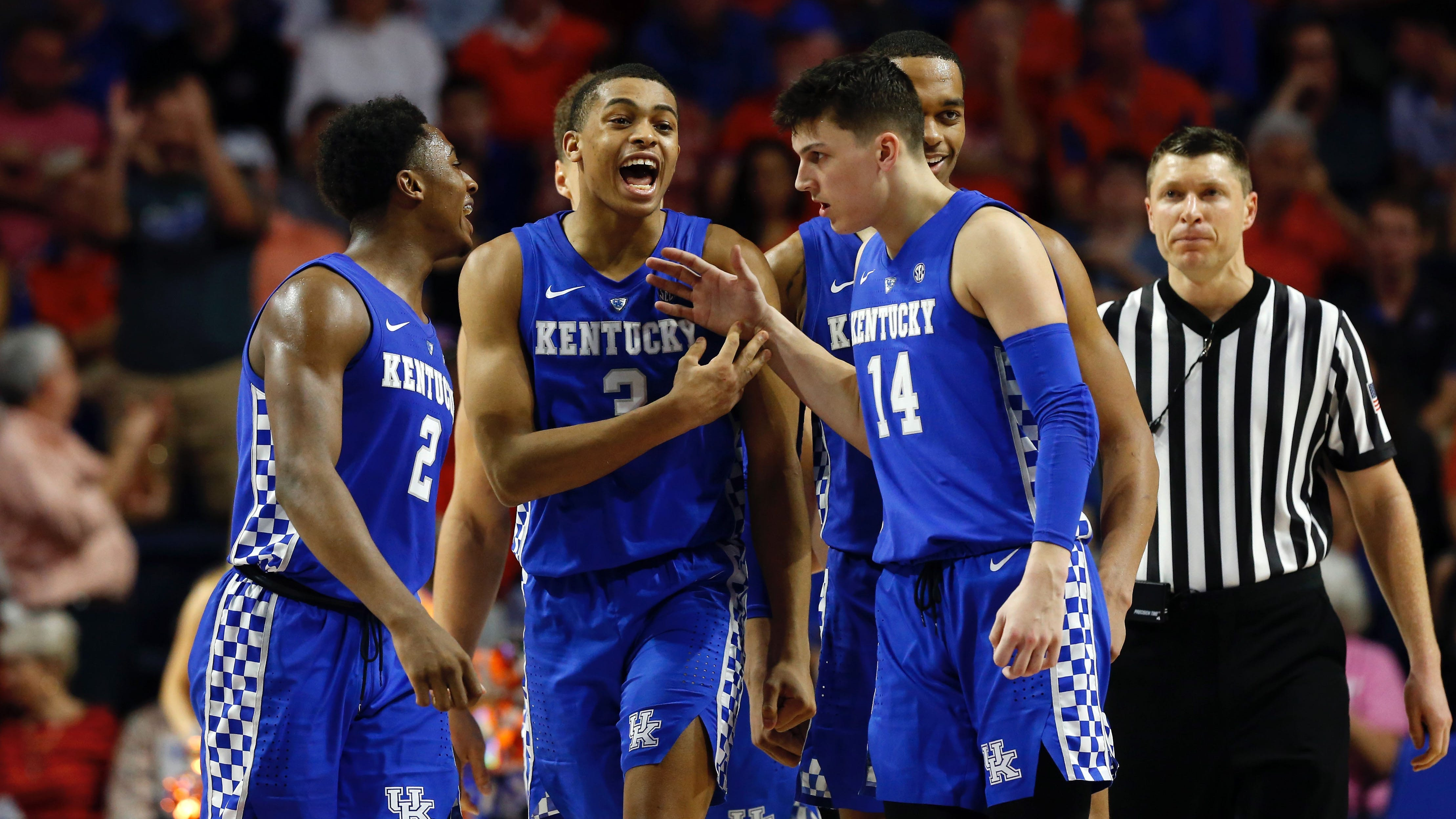 Uk Basketball: March Madness NCAA Tournament Bracketology: Kentucky Takes