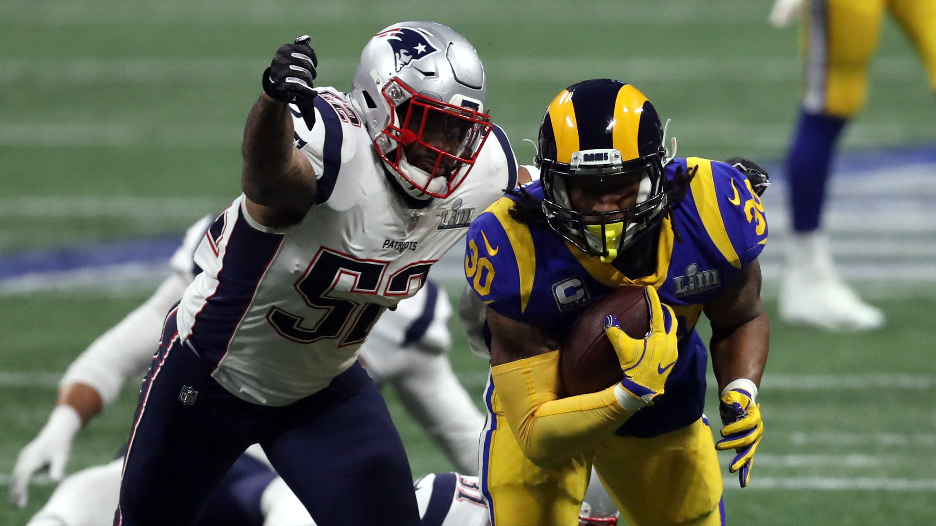 super bowl rams 39 todd gurley wasn 39 t himself and neither. Black Bedroom Furniture Sets. Home Design Ideas
