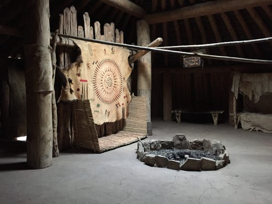 The earthlodge was the center of Hidatsa family life, especially during the brutal northern winters.