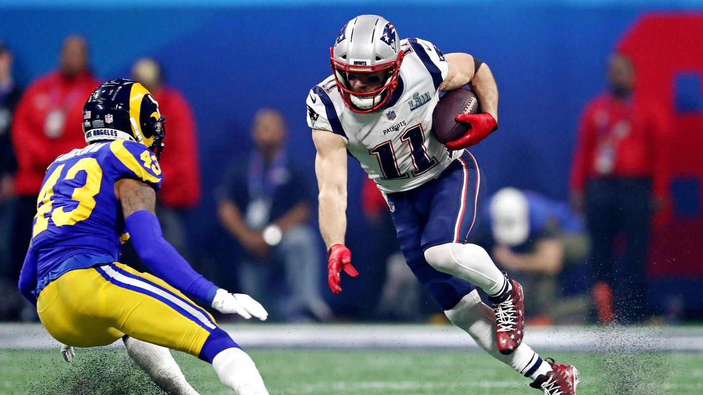 9bbf2a288 Julian Edelman  Super Bowl MVP goes to New England Patriots WR