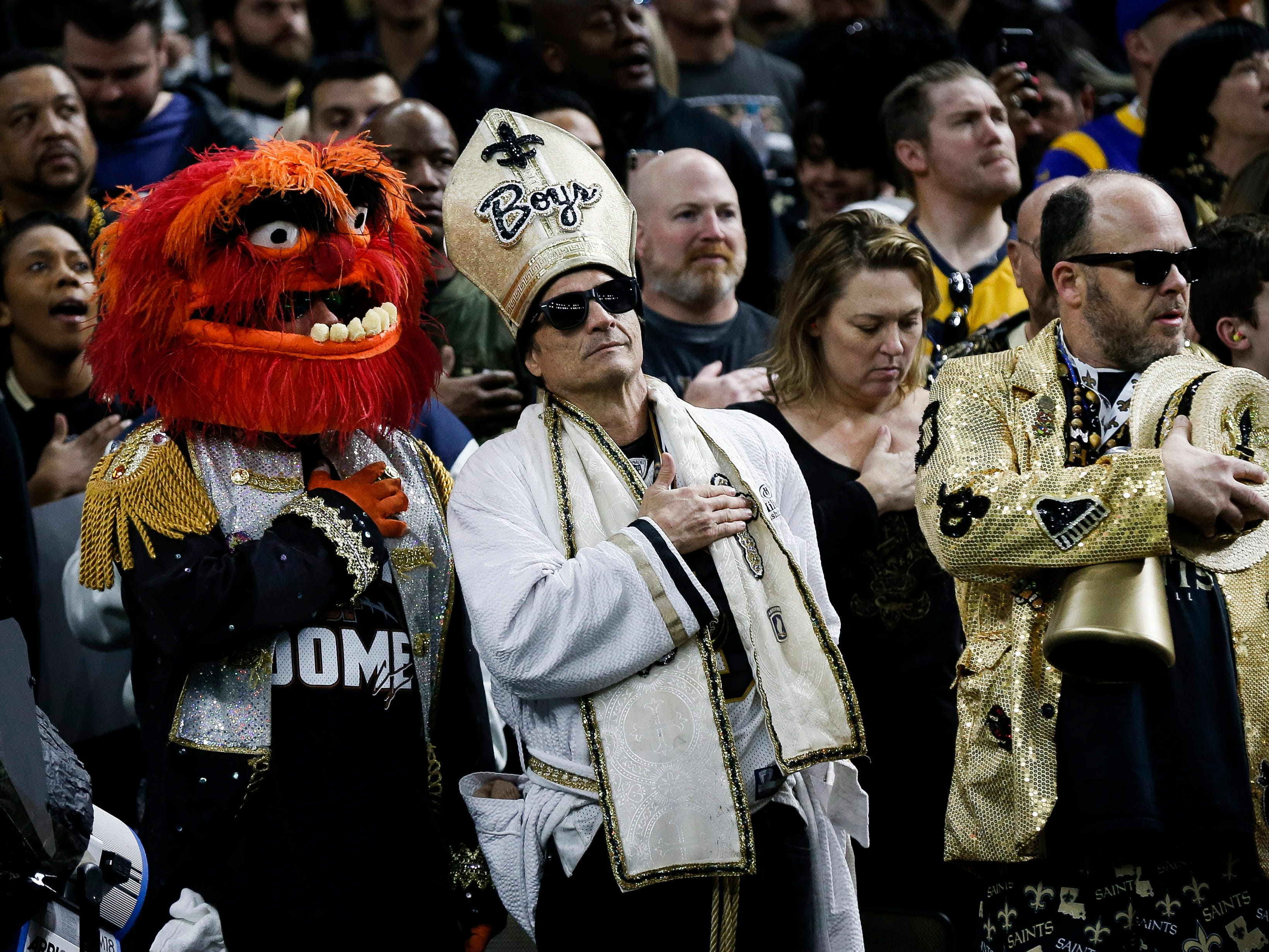 New Orleans stages anti-Super Bowl protests, complete with parades, voodoo dolls