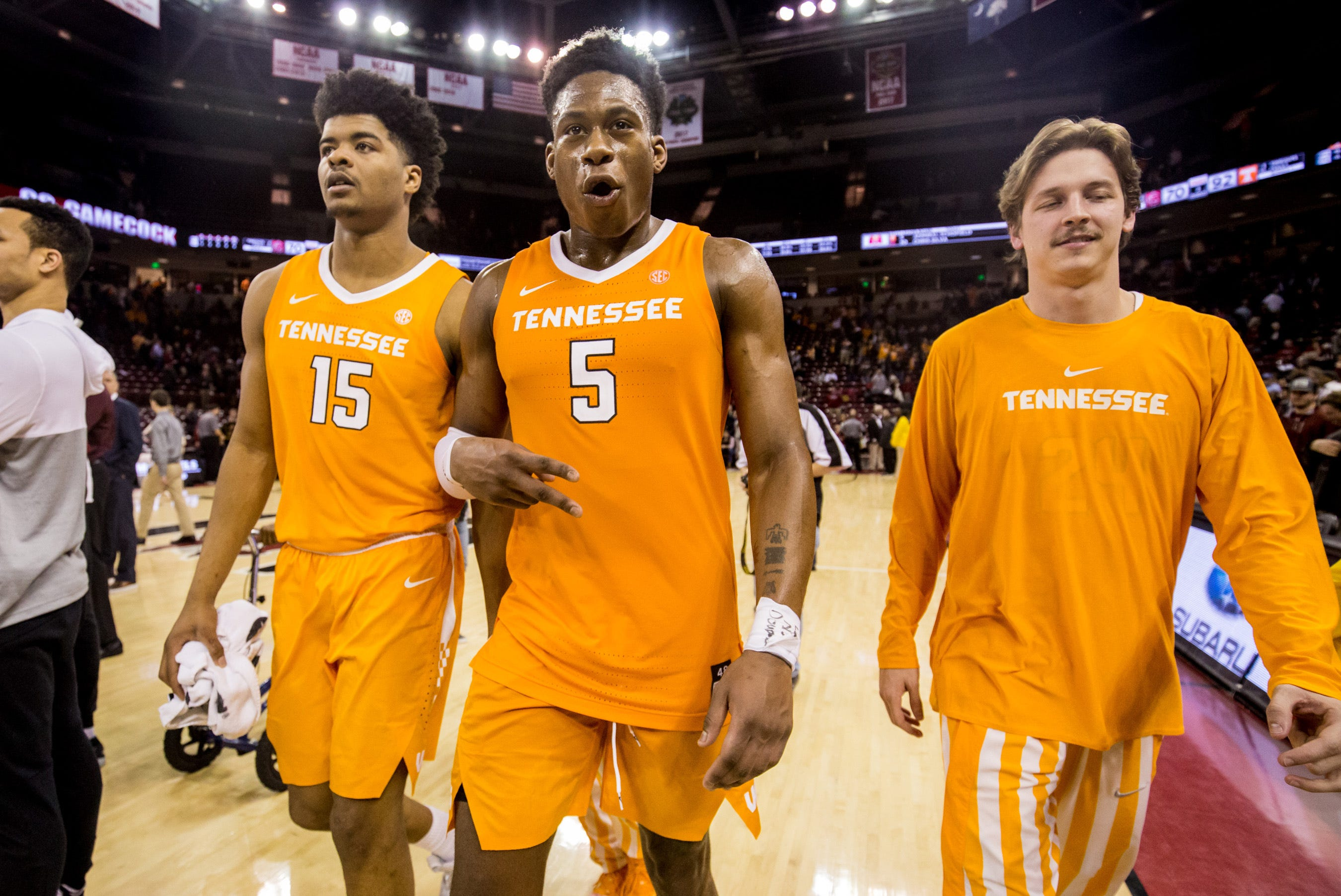 Tennessee stays at No. 1 for third consecutive week in USA TODAY Sports men's basketball poll