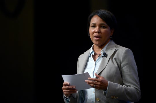 Rosalind Brewer, chief operating officer of Starbucks, in August 2013.