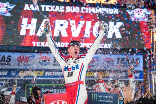 Kevin Harvick's No. 4 Stewart-Haas Racing team team was penalized and fined after his victory in the 2018 playoff race at Texas Motor Speedway.