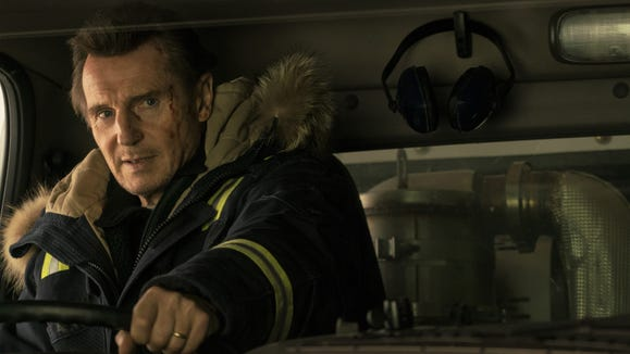"""Liam Neeson stars as a man who turns vigilante when his son is murdered in """"Cold Pursuit."""""""