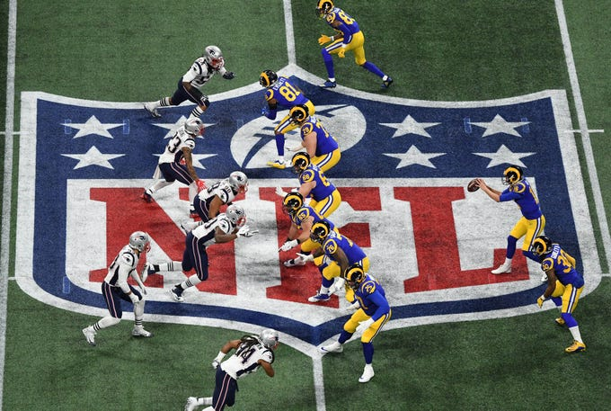 The Patriots beat the Rams in Super Bowl LIII.