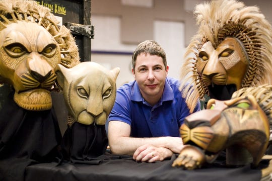 "Michael Reilly began working with Disney's ""The Lion King"" musical in 1999. He's back in Appleton with the North American tour for a three-week engagement that opens Thursday."