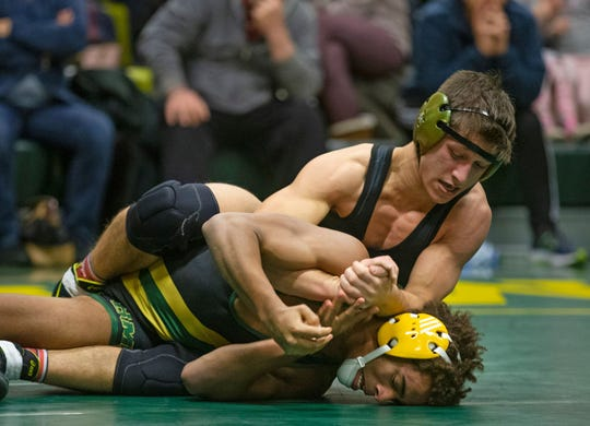 Southern, with Nick Pepe (left) as one of its leading wrestlers is ranked inside  the top 10 of the New Jersey Wrestling Writers Association State Top 20 Poll