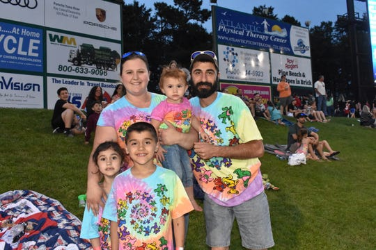 Fans at the Lakewood BlueClaws' 2018 Grateful Dead Night.
