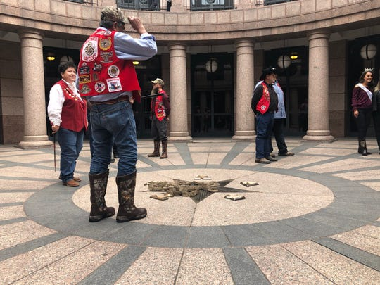 Sweetwater Jaycees members were at the Texas Capitol in Austin on Monday, Feb. 4, 2019, to promote the  Sweetwater Jaycees World's Largest Rattlesnake Roundup, March 8-10.