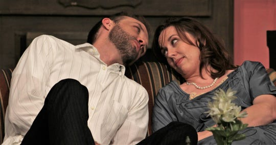 "Former McMurry University students at the same time, Keith May and Amanda Keith have reunited for the two roles as lovers in ""Same Time, Next Year,"" Abilene Community Theatre's romantic comedy-drama for the Valentine's Day season."