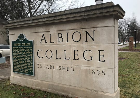 The campus of Albion College.
