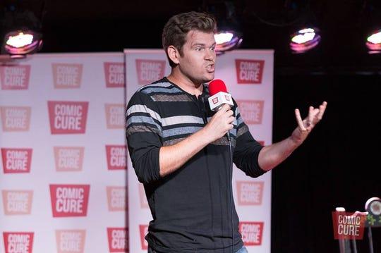 Comedian Chris Sanders.