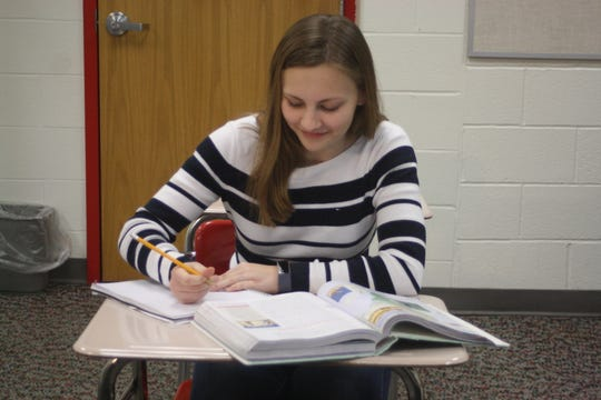 Katerina Retzlaff, a 16-year-old Chenango Valley High School junior from Kirkwood, will finish up the year's studies in Washington D.C. as a member of the United States Senate Page Program.