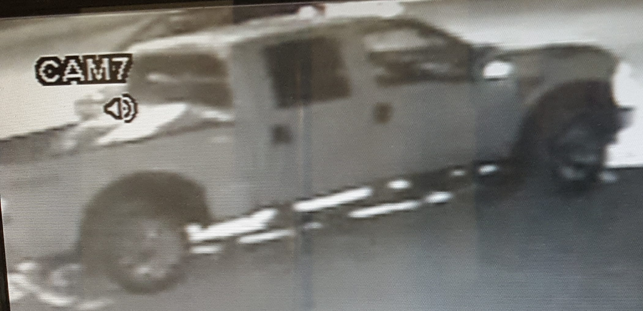 A Ford F-250 is being sought as Broome County Sheriff's deputies investigate a Jan. 21, 2019 robbery at a Dunkin Donuts in Endwell.