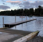 State grants have helped to pay for construction to repair the Port of Grapeview boat launch.