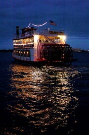 FLORIDA TODAY file The Indian River Queen will host a Valentine's Day dinner cruise.