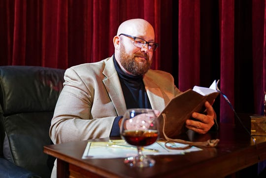 """Greg Galbreath plays Andrew Makepeace Ladd III in """"Love Letters"""" at Titusville Playhouse."""