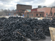 Heavy chain is piled near the Burlington municipal fishing pier, to be used as stabilizers beneath the new Burlington Harbor Marina's floating breakwaters. Photographed on Tuesday, Feb. 5, 2019.