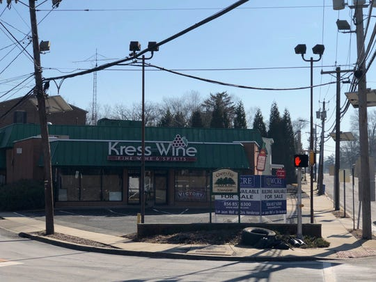 Kress Wine, a familiar sight at a busy Cherry Hill intersection, has closed.