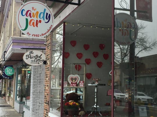 The Candy Jar by 1892 Chocolates sells organic chocolate from Ecuador among it sweet offerings on Haddon Avenue in Collingswood.