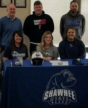 Williamsburg softball senior outfielder Faith Golden signed Feb. 4 to continue her academic and softball career at Shawnee State University.