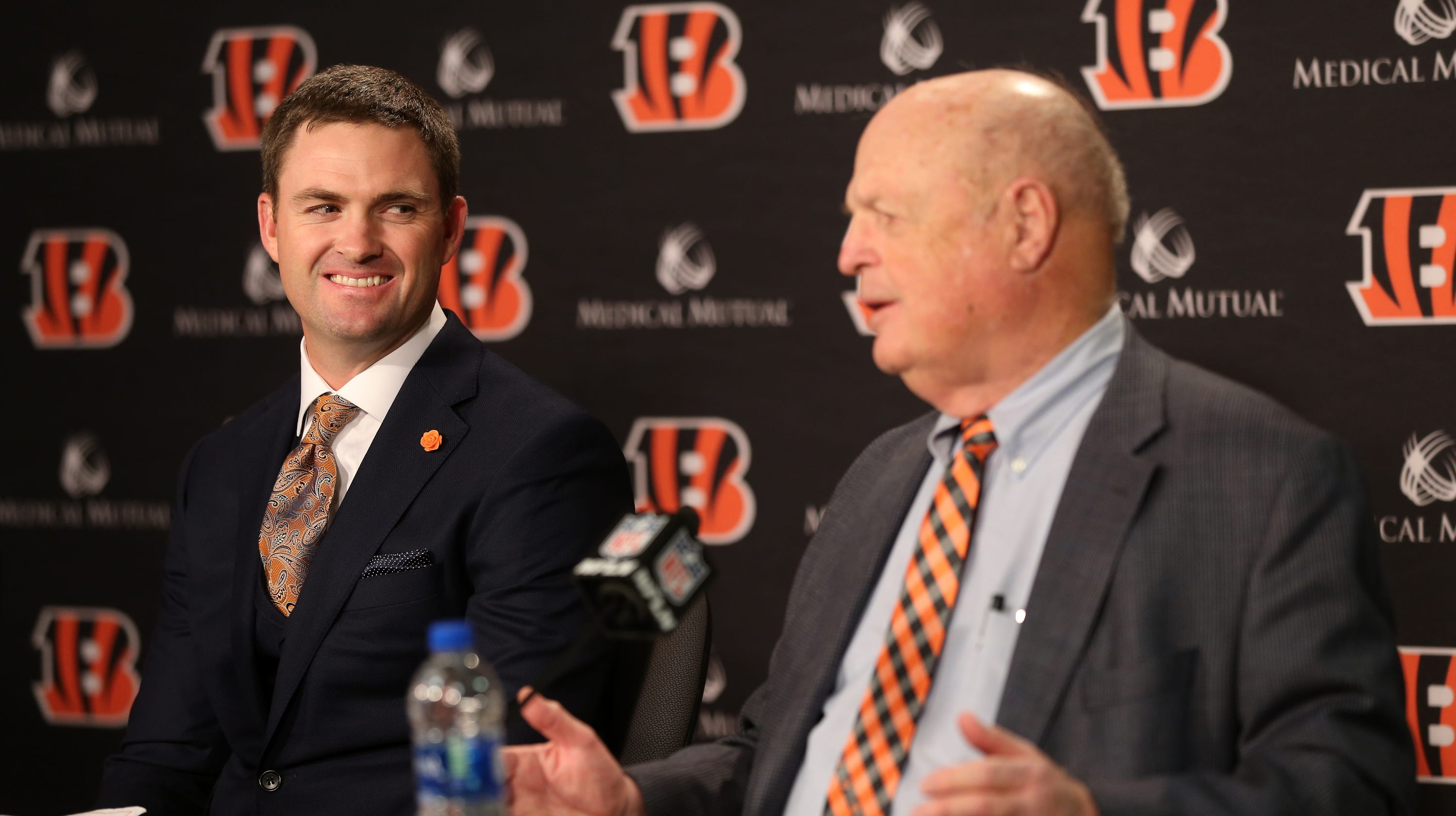 a78272279c885 Mike Brown  Cincinnati Bengals  open to new ideas  with Zac Taylor hire