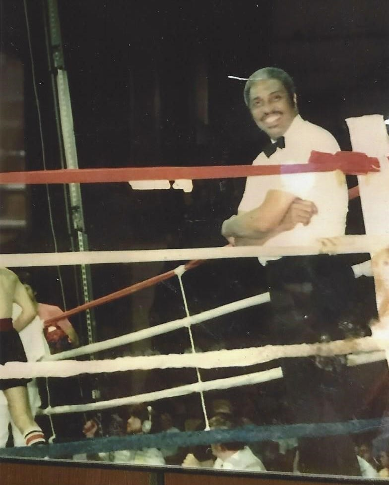 Boxing referee Billy Means in an undated photo.