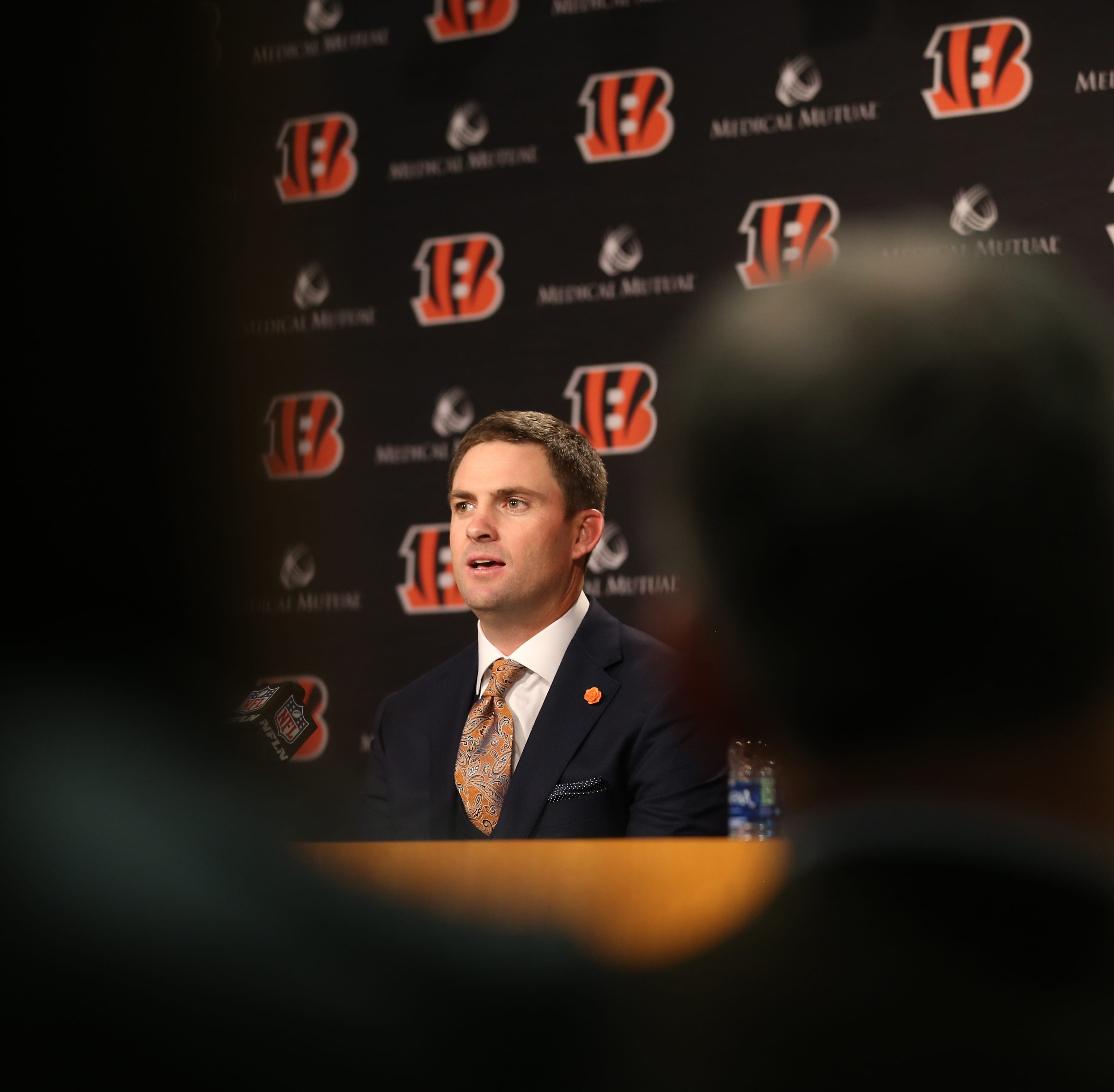 Zac Taylor was named the 10th head coach in...
