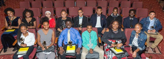 2018 Robeson Youth Achievement Award winners.