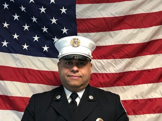 Perth Amboy Fire Capt. Davis Vazquez