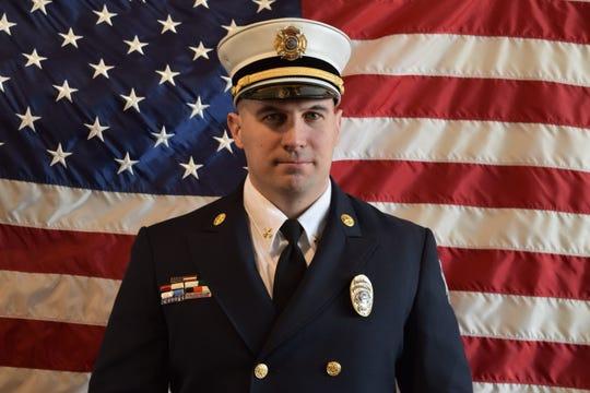 Perth Amboy Fire Chief Edward Mullen