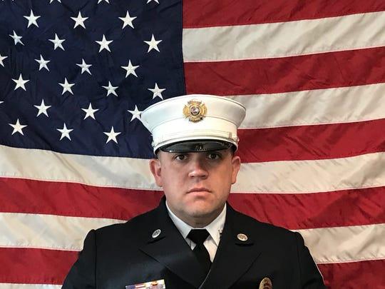 Perth Amboy Fire Capt. Daniel Arroyo