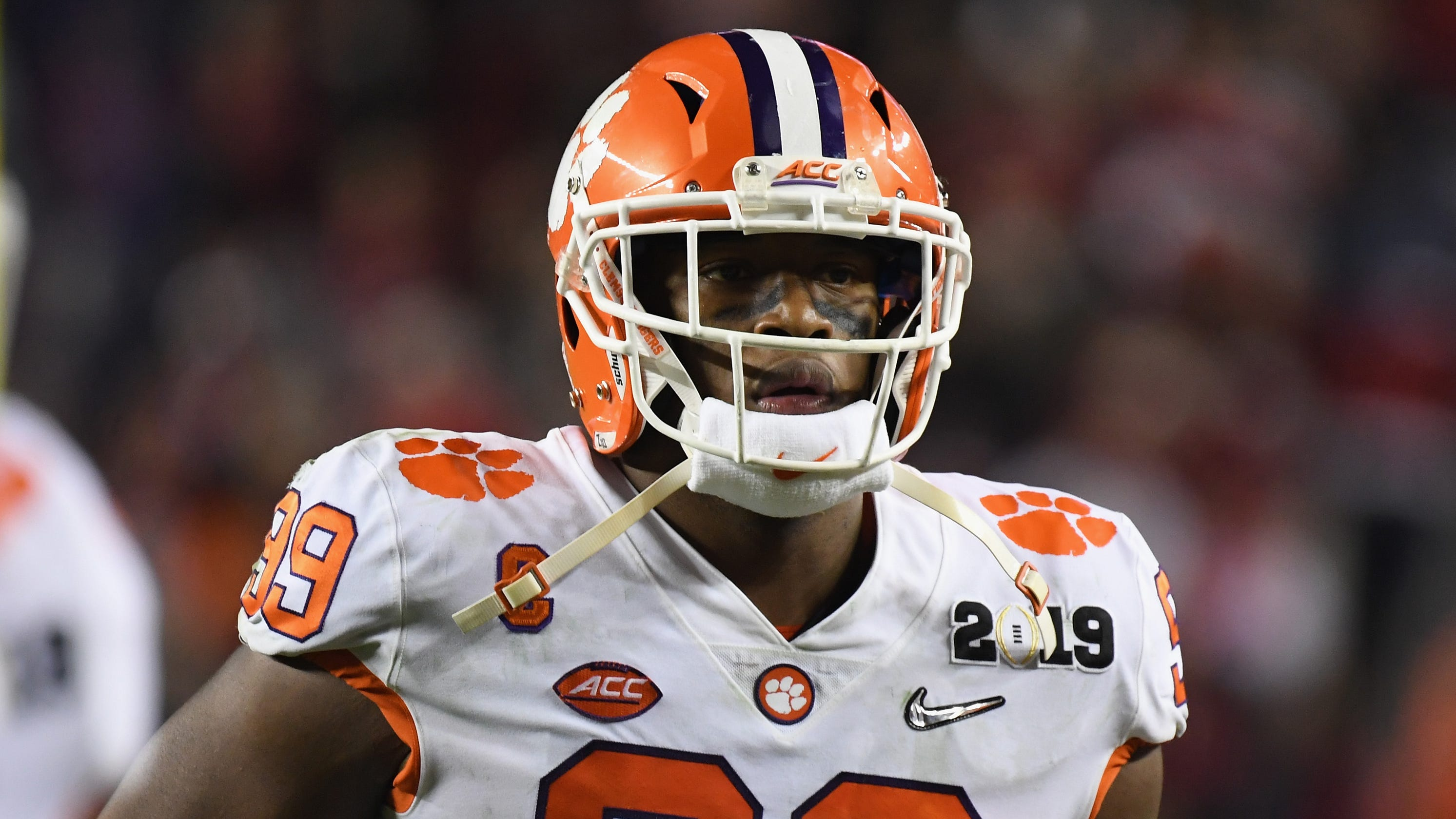 NFL combine  Clemson s Clelin Ferrell wants all to know his name 932f67e5f
