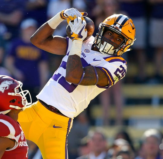Cornerback Greedy Williams prepped at Calvary Baptist Academy before two solid years (on the field) at LSU.
