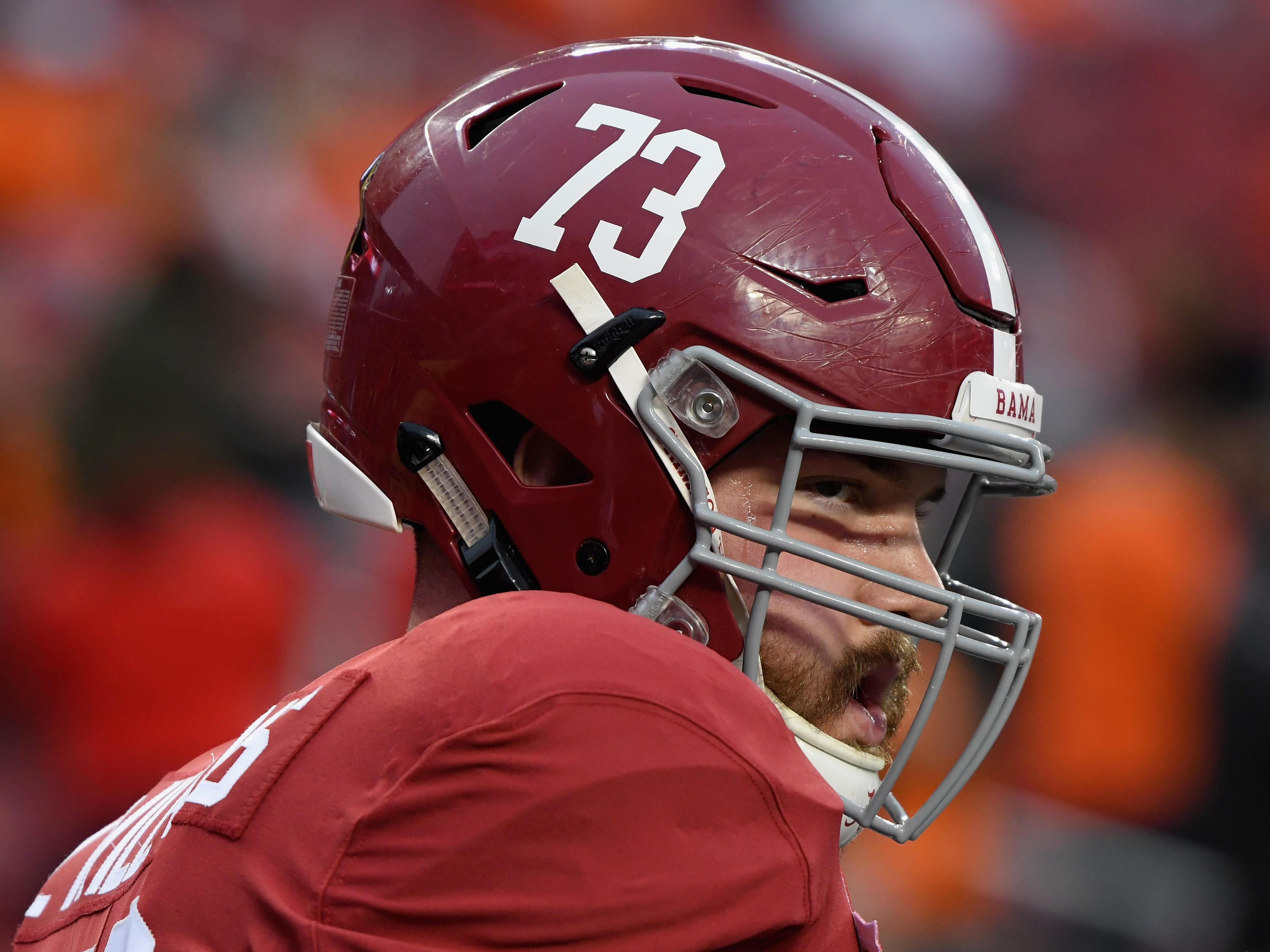 5. Tampa Bay Buccaneers - OL Jonah Williams, Alabama: The Bucs could be in a sweet trade-down spot considering they pick in front of two quarterback-needy teams. Here, though, they take the best offensive lineman available.