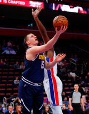 Nikola Jokic was the No. 41 overall pick in the 2014 NBA draft.