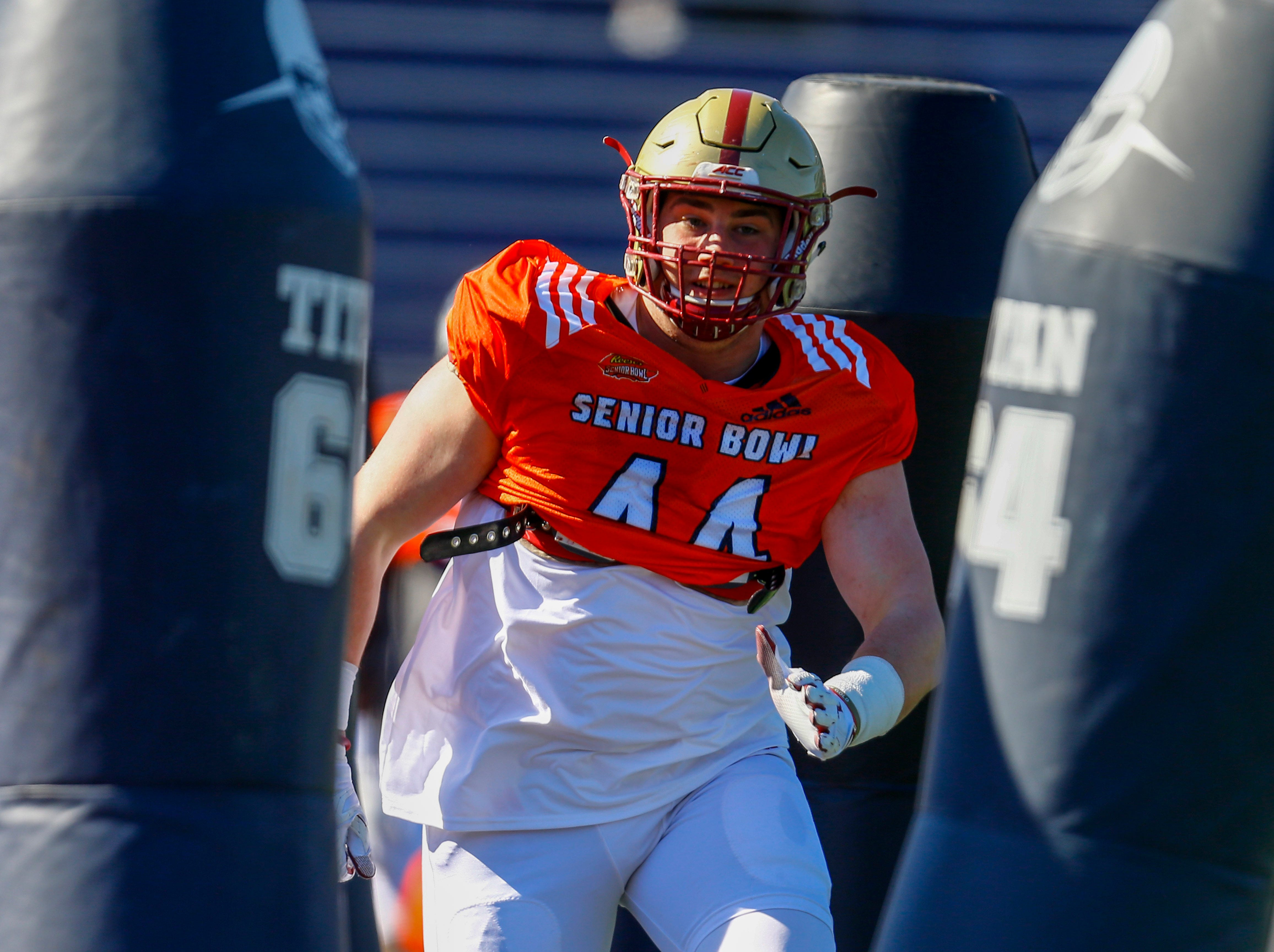 DE Zach Allen, Boston College: Allen didn't have huge sack numbers at B.C., but he plays all over the defensive line and he spent two years with Lions defensive coordinator Paul Pasqualoni in college.
