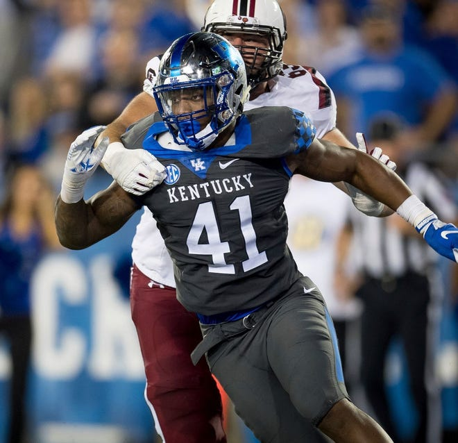 Jaguars defensive end Josh Allen was the SEC defensive player of the year in 2018 for the Kentucky Wildcats.