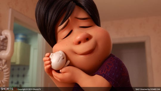 A scene from the Pixar contender, 'Bao,' one of the short animated films nominated for the 2019 Oscars.