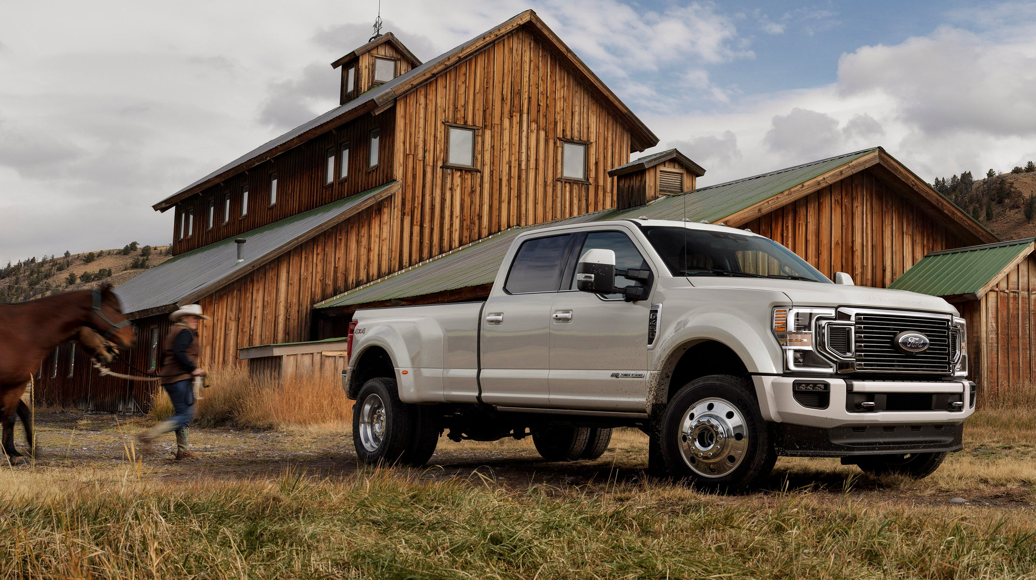 Ford's 2020 Super Duty F-450 pickup.